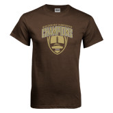 Brown T Shirt-2016 Marathon MAC Football Champions