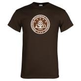 Brown T Shirt-WMU Seal