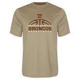 Performance Vegas Gold Tee-Broncos Basketball Half Ball