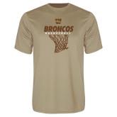 Performance Vegas Gold Tee-Broncos Basketball Hanging Net