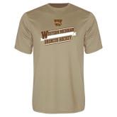 Syntrel Performance Vegas Gold Tee-Western Michigan Broncos Hockey