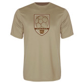 Performance Vegas Gold Tee-Soccer Shield