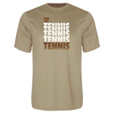 Performance Vegas Gold Tee-Tennis Repeated