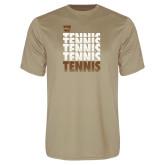 Performance Vegas Gold Tee-Tennis Repeated
