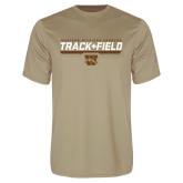 Performance Vegas Gold Tee-Track & Field Flat w/ Bar