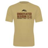 Syntrel Performance Vegas Gold Tee-Undefeated Season 13-0 Football 2016