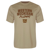 Syntrel Performance Vegas Gold Tee-Arched Western Michigan Alumni