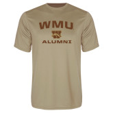Syntrel Performance Vegas Gold Tee-Arched WMU Alumni