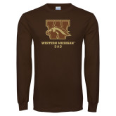 Brown Long Sleeve TShirt-Dad
