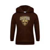 Youth Brown Fleece Hood-2016 Marathon MAC Football Champions