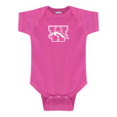 Fuchsia Infant Onesie-W w/ Bronco