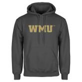 Charcoal Fleece Hood-WMU