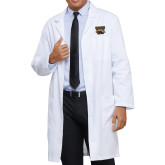 Mens White Lab Coat-W w/ Bronco