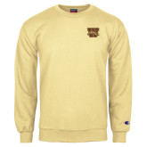 Champion Vegas Gold Fleece Crew-W w/ Bronco