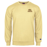 Champion Vegas Gold Fleece Crew-Broncos w/ Bronco Head