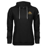 Adidas Climawarm Black Team Issue Hoodie-Broncos w/ Bronco Head