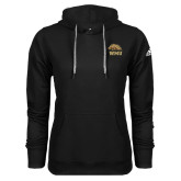 Adidas Climawarm Black Team Issue Hoodie-WMU w/ Bronco Head