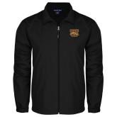 Full Zip Black Wind Jacket-W w/ Bronco