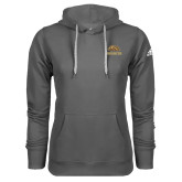 Adidas Climawarm Charcoal Team Issue Hoodie-Broncos w/ Bronco Head