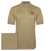 Vegas Gold Dry Mesh Polo-WMU w/ Bronco Head