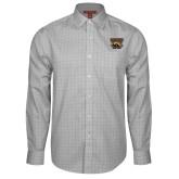 Red House Grey Plaid Long Sleeve Shirt-W w/ Bronco