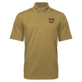 Vegas Gold Mini Stripe Polo-W w/ Bronco