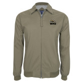 Khaki Players Jacket-WMU w/ Bronco Head