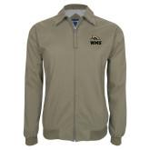 Khaki Players Jacket-WMU w/ Bronco Head