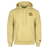 Champion Vegas Gold Fleece Hoodie-WMU w/ Bronco Head