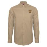 Red House Tan Long Sleeve Shirt-W w/ Bronco