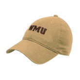 Vegas Gold Twill Unstructured Low Profile Hat-WMU