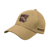 Vegas Gold Heavyweight Twill Pro Style Hat-W w/ Bronco