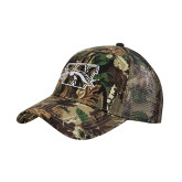 Camo Pro Style Mesh Back Structured Hat-W w/ Bronco