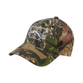 Mossy Oak Camo Structured Cap-W w/ Bronco