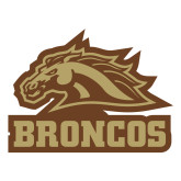 Large Magnet-Broncos w/ Bronco Head, 12 inches wide