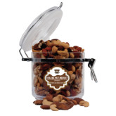 Deluxe Nut Medley Round Canister-W w/ Bronco