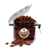Almond Bliss Round Canister-W w/ Bronco