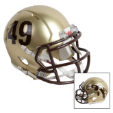 Riddell Replica Gold Mini Helmet-