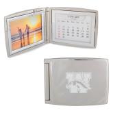 Silver Bifold Frame w/Calendar-W w/ Bronco Engraved