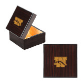 Wooden Jewelry Box-W w/ Bronco Engraved