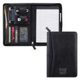 Pedova Black Jr. Zippered Padfolio-W w/ Bronco Engraved