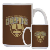 Full Color White Mug 15oz-2016 Marathon MAC Football Champions