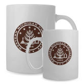 Full Color White Mug 15oz-WMU Seal