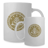 Full Color White Mug 15oz-WMU Seal Gold