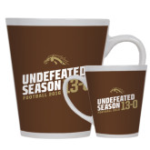 12oz Ceramic Latte Mug-Undefeated Season Football 2016