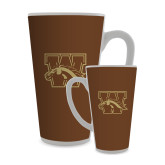 Full Color Latte Mug 17oz-W w/ Bronco