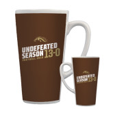 Full Color Latte Mug 17oz-Undefeated Season Football 2016