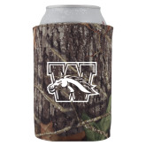 Collapsible Mossy Oak Camo Can Holder-W w/ Bronco