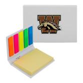 Micro Sticky Book-W w/ Bronco