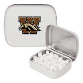 White Rectangular Peppermint Tin-W w/ Bronco
